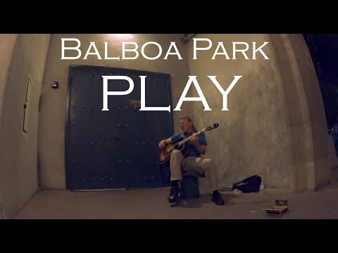 Musician of chula vista in balboa park San diego CA