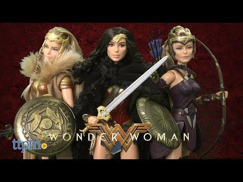 Barbie Collector Wonder Woman Hippolyta, Antiope & Wonder Woman from Mattel