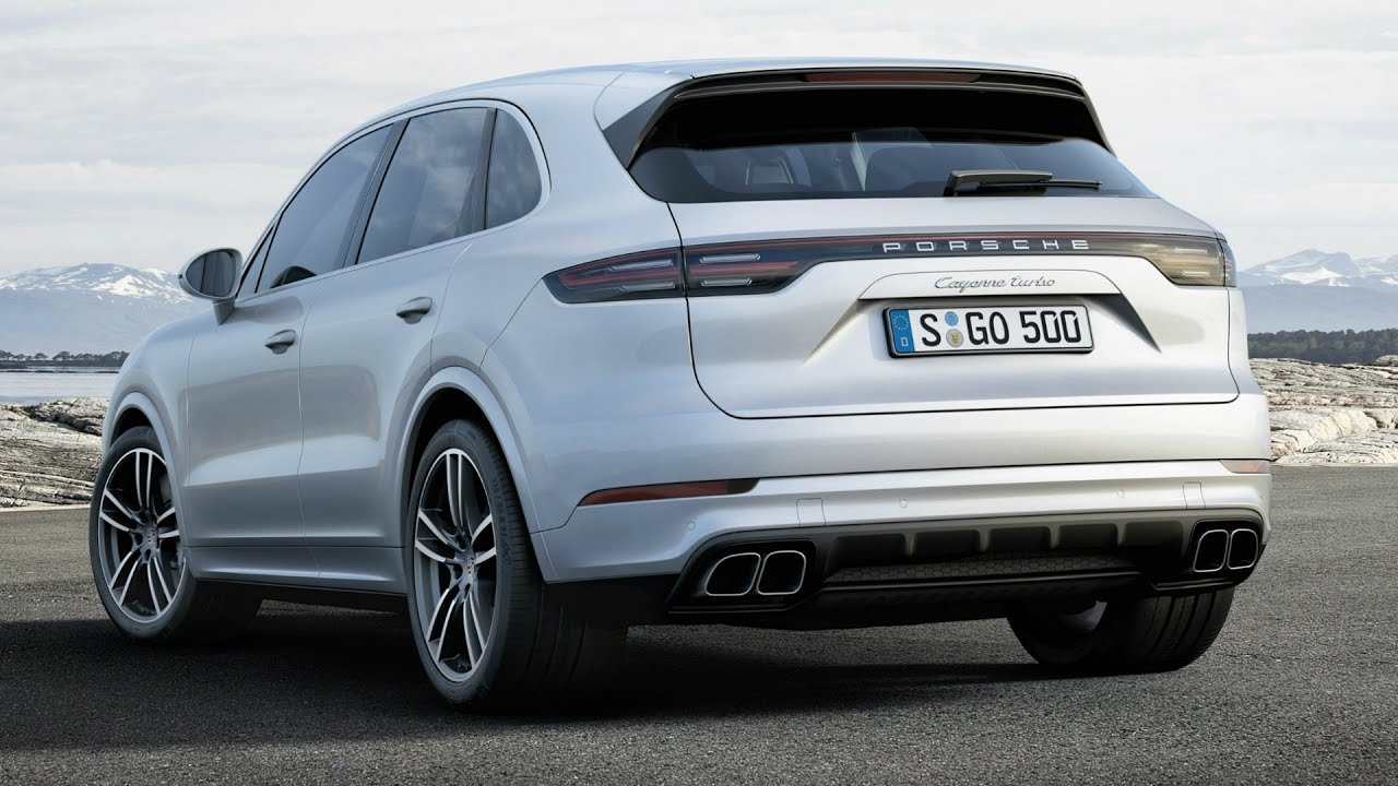 2018 porsche cayenne turbo awesome 550 hp engine sound. Black Bedroom Furniture Sets. Home Design Ideas