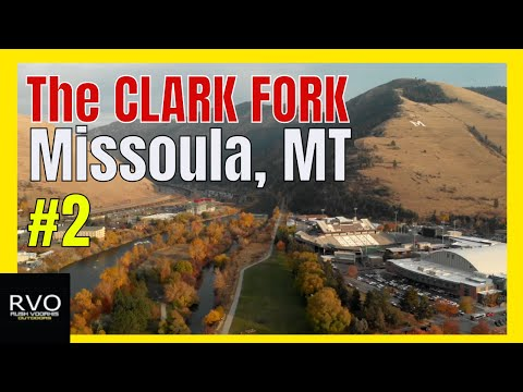 Fly Fishing The CLARK FORK River - Missoula, MT - Montana Tour - Episode #2