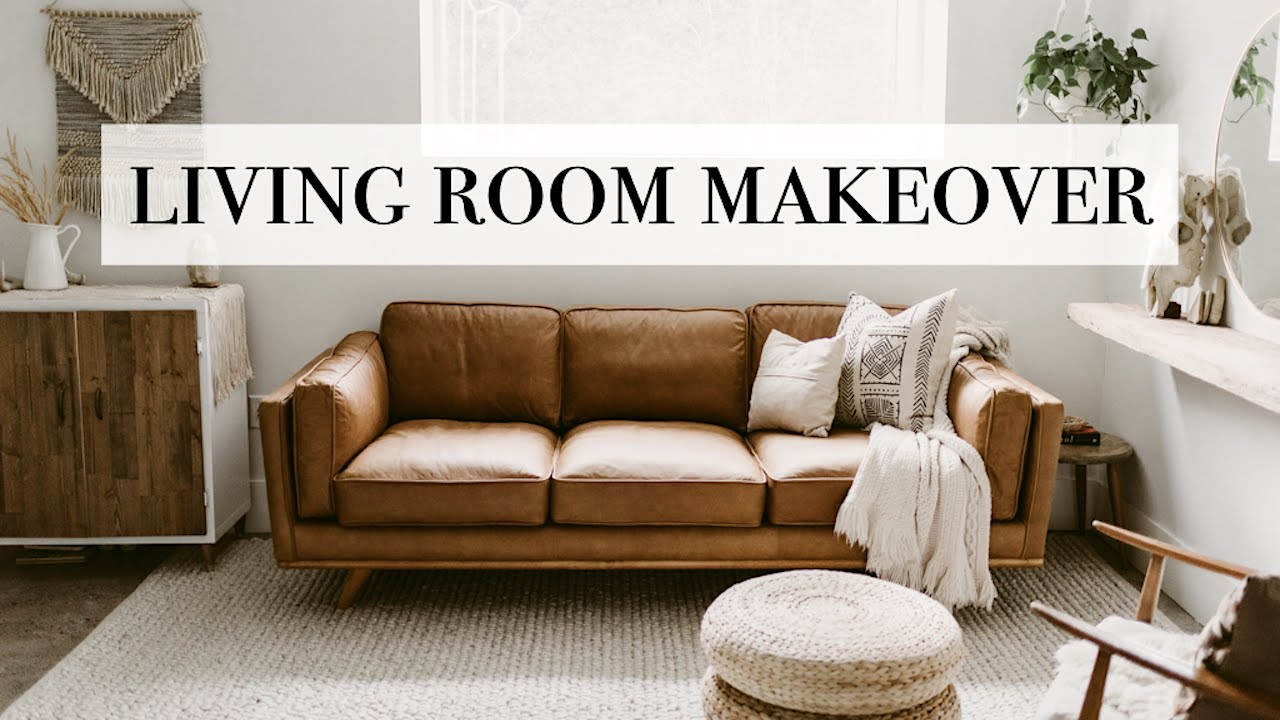 Living Room Makeover 2019 Article Furniture Youtube
