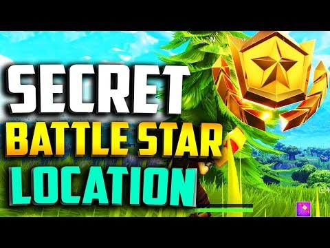 SECRET BATTLE STAR WEEK 3 SEASON 5 LOCATION! - Fortnite Battle Royale