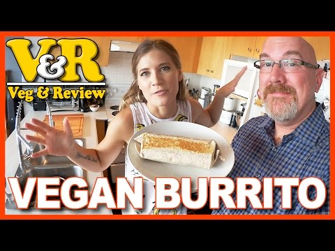 Vegan Burrito & Fat Bastard Burrito Ghost Pepper Sauce with Candice from EdgyVeg