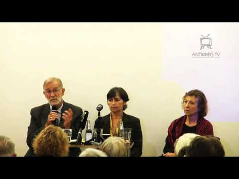 Berlin Event 9/16/2015 - Ex-CIA-analysts Ray McGovern & Elisabeth Murray - World Beyond War