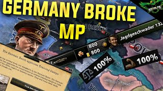 HOI4 Germany Multiplayer - Germany Broke the Game? (hearts of iron 4 germany multiplayer)