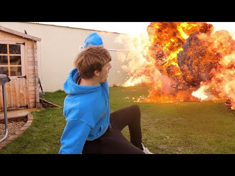 1000 Degree EXPLOSION Experiment *GONE WRONG*