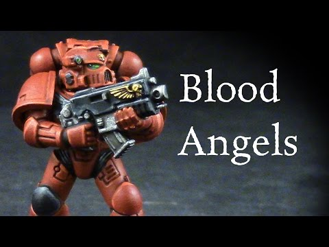 How to paint Blood Angels Space Marines