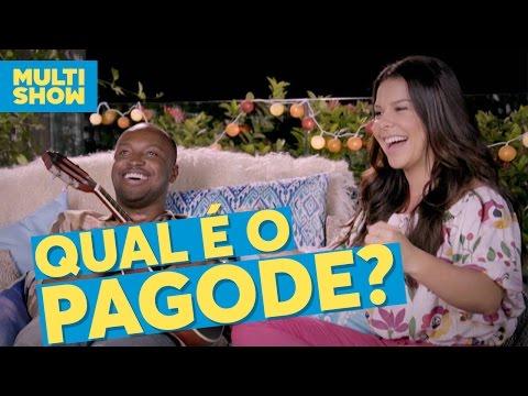 Qual é o pagode?  Fernanda Souza + Thiaguinho  Vai Fernandinha  Multishow