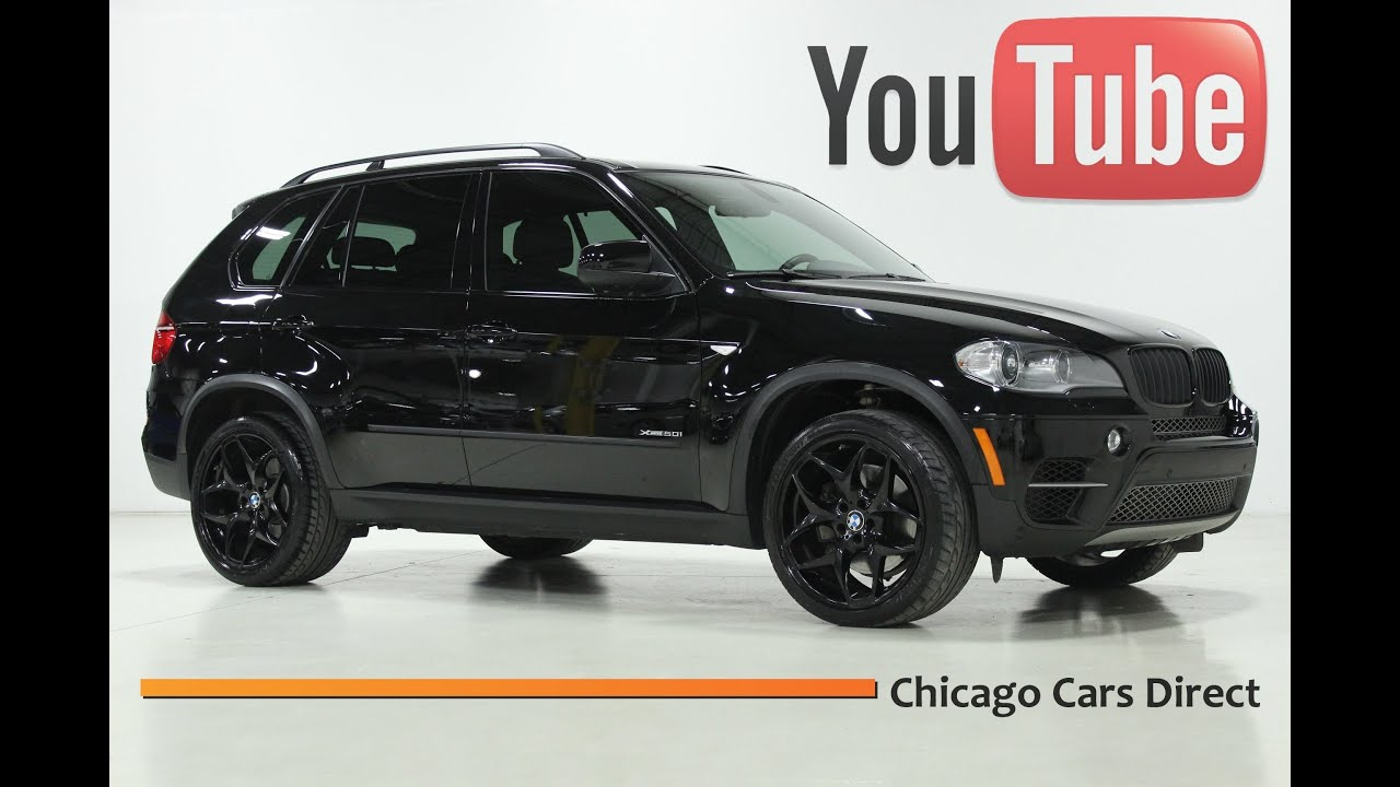 Chicago cars direct presents a 2012 bmw x5 50i xdrive jet blackblack x13579 youtube