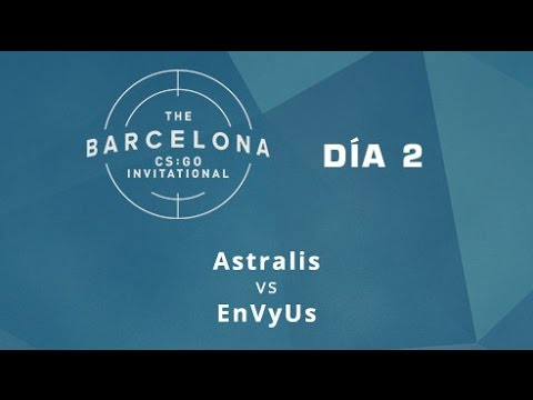 Astralis vs EnVyUs [Mirage] - Día 2 - ESL Expo Barcelona CS:GO Invitational - Español