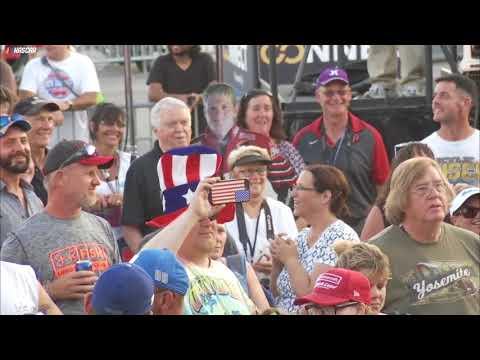 NASCAR Trackside Live replay: Dale Jr., Truex Jr., Almirola chat it up
