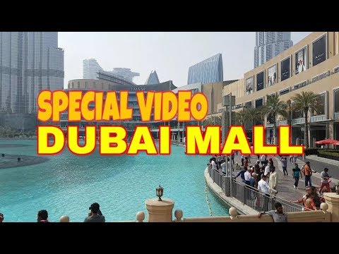 The Worlds Largest Mal | THE THE DUBAI MALL | THE LUXURY BRANDS | Josephine Vlogs