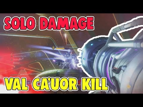Solo Damage Val Ca'uor Kill [Spire of Stars Boss] - Destiny 2