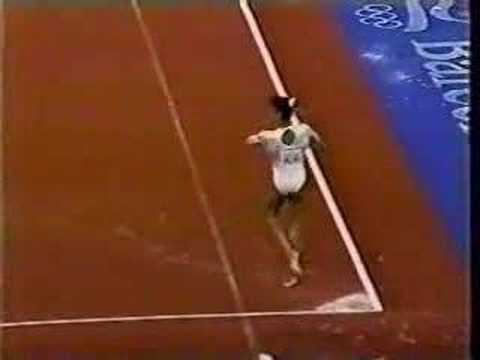 Betty Okino - 1992 Olympics AA - Floor Exercise streaming vf