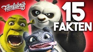 15 coole Fakten zu ANIMATIONSFILMEN von DREAMWORKS! (SHREK, KUNG FU PANDA, etc.)