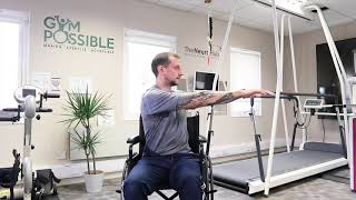 Zombie Twists | Seated Fitness Home Workouts | Making Exercise Accessible