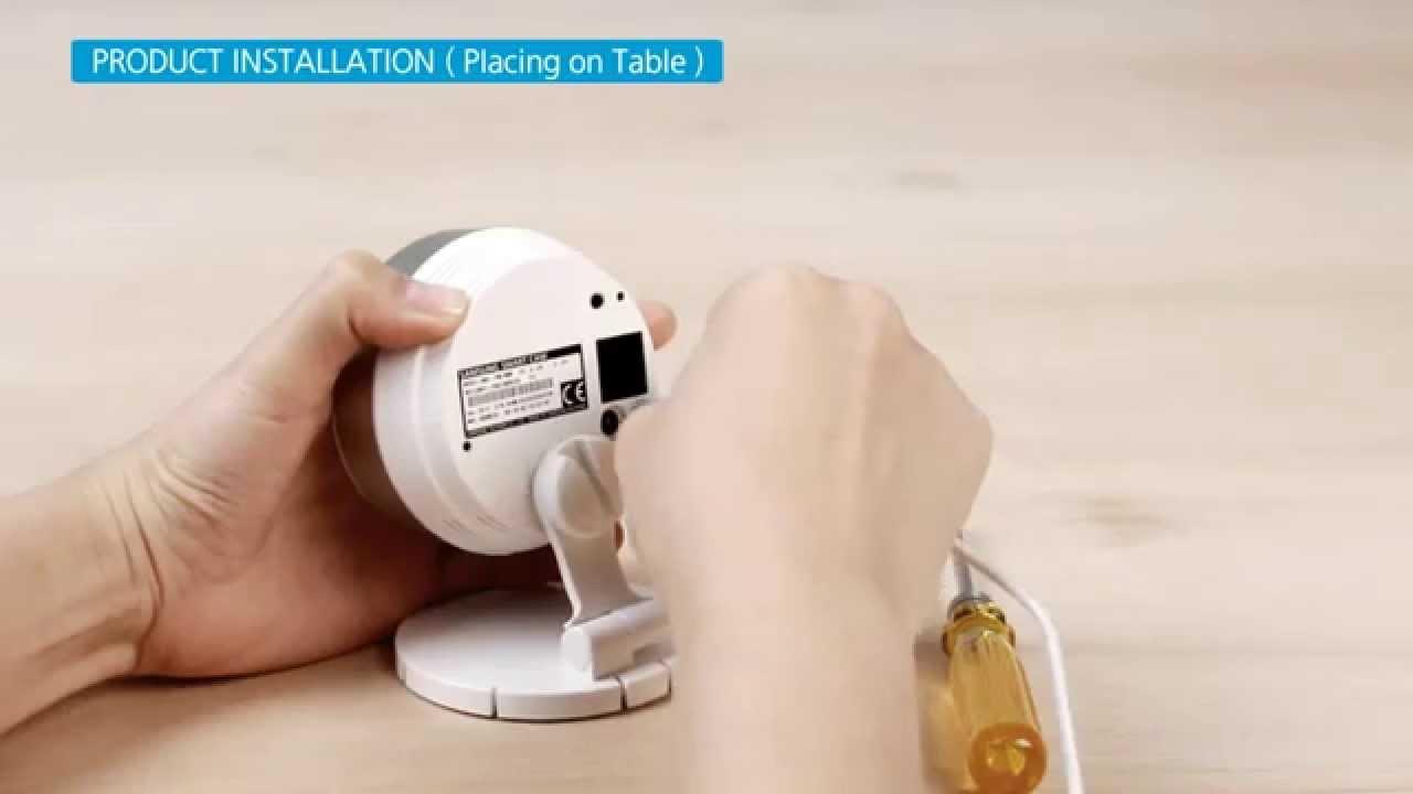 Samsung Smartcam HD Pro Wireless IP Camera Mounting Options