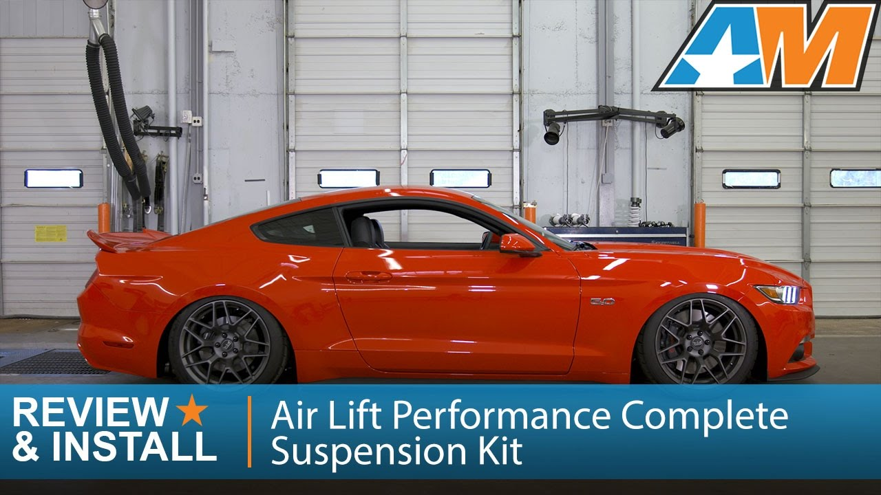 2015-2017 Mustang Air Lift Performance Complete Suspension Kit - Digital  Review & Install