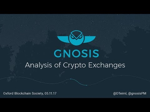 Gnosis — Analysis of Crypto Exchanges — Oxford Blockchain Society