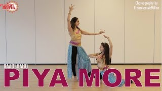 Piya more (baadshaho) | bollywood dance cover| emraan hashmi | sunny leone | by francesca mcmillan