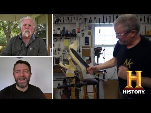 Forged in Fire: Judges' EPIC Home Forge Battle (Season 8) | History