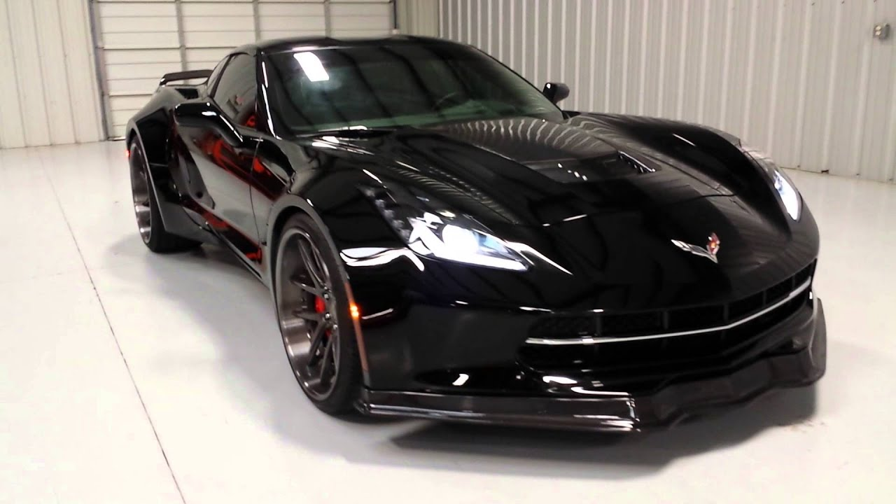 2014 Corvette Stingray For Sale >> 2014 corvette widebody - YouTube