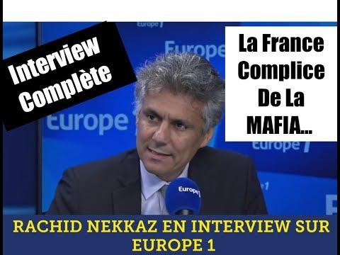 RACHID NEKKAZ SUR LA RADIO EUROPE 1 (interview complète )