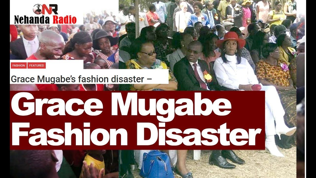 Watch Grace Mugabe Fashion Disaster What Happened