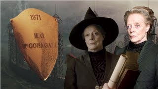 Why The Name On This Plaque Does Not Represent Minerva McGonagall