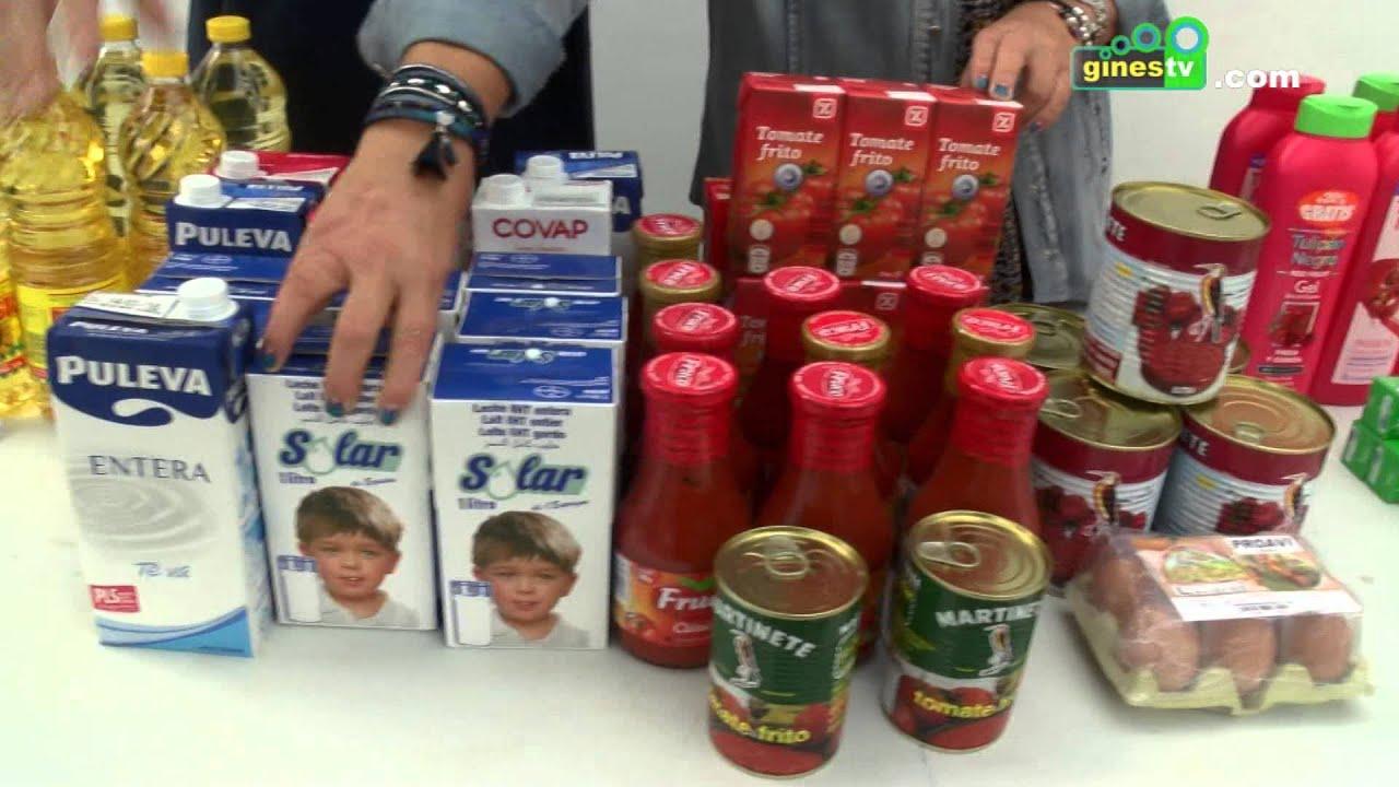 El Cesto Solidario recogió dos toneladas de alimentos para las familias con dificultades