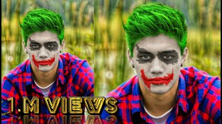 | PicsArt Editing | How To Joker Face Editing On Picsart editing tutorial