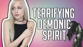 TALKING TO A DEMONIC GHOST   TERRIFYING PARANORMAL EXPERIENCE   TRUE! NOT CLICKBAIT!