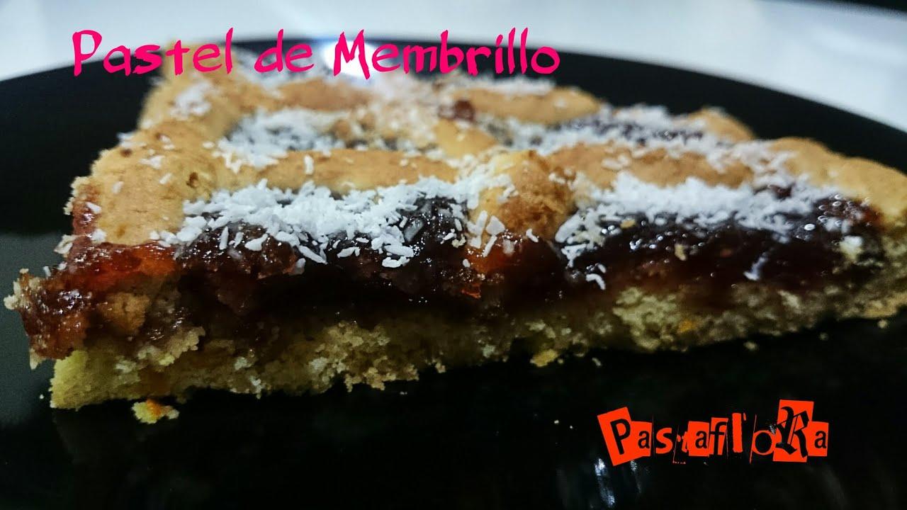 Como hacer pastaflora pastel de membrillo base de tarta - Como preparar membrillo ...
