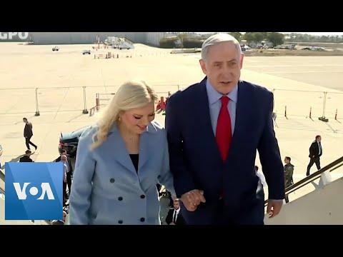Israel PM Netanyahu Leaves for Washington