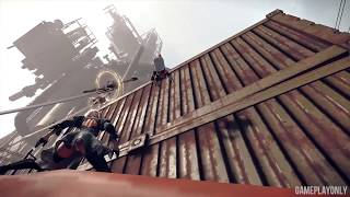 Nier Automata - Don't try and look up 2B's Skirt!!!