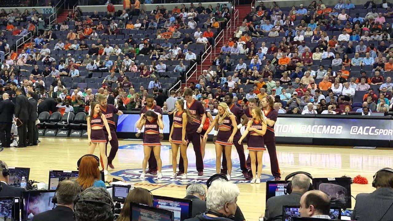 Virginia Tech Cheerleaders