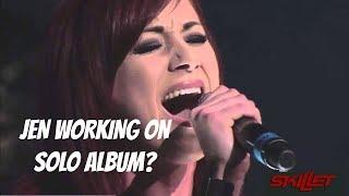 JEN LEDGER WORKING ON SOLO ALBUM? SKILLET NEWS AND RUMORS!! | MattSkilletGuy.