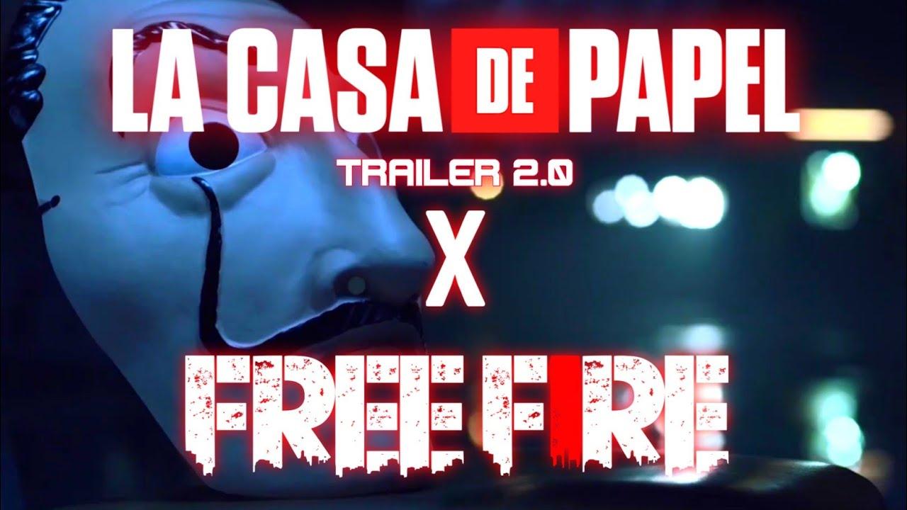 LA CASA DE PAPEL x FREE FIRE Trailer 2.0