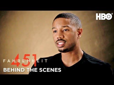 Inside Fahrenheit 451 w Michael B. Jordan, Ramin Bahrani & Cast  HBO