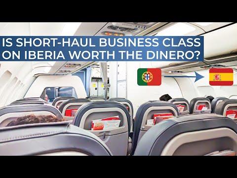 TRIPREPORT | Iberia (BUSINESS CLASS) | Lisbon - Madrid | Airbus A320