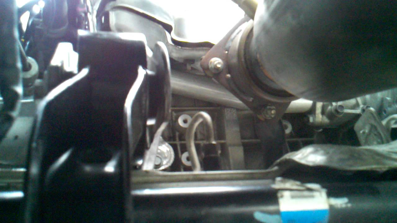 jeep new motor mount installed