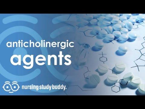 anticholinergic agents - nursing study buddy video library - youtube, Skeleton