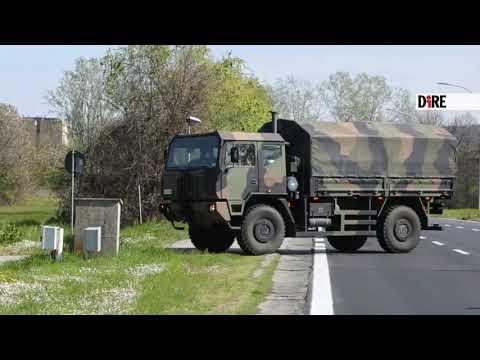 A Bologna arrivano altri mezzi militari con i defunti per Coronavirus