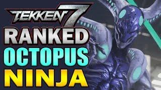 """OCTOPUS NINJA!!"" - Yoshimitsu Ranked Matches! - Tekken 7"