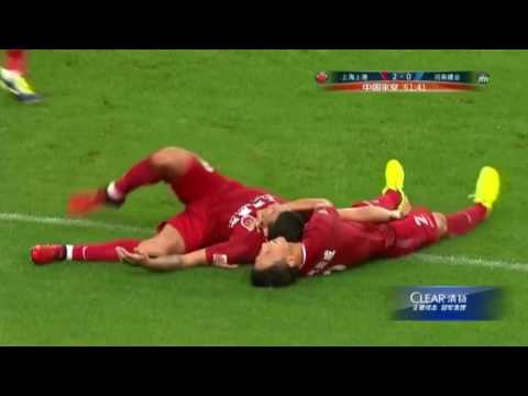 HIGHLIGHTS Shanghai SIPG vs Henan Jianye 上海上港vs河南建业 | CSL 2017 Round 14