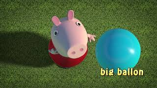 peppa pig in 3D big balloon song
