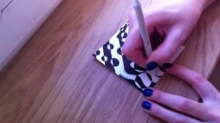9 урок по рисованию. (Зентангл. Дудлинг. Раскраски антистресс.)
