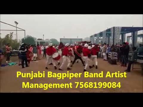 Bagpiper Band Artist Management Booking in Agra 7568199084