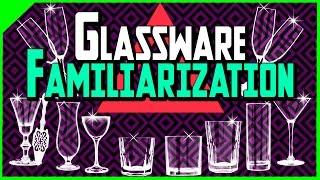 Glassware Familiarization | Bartending School