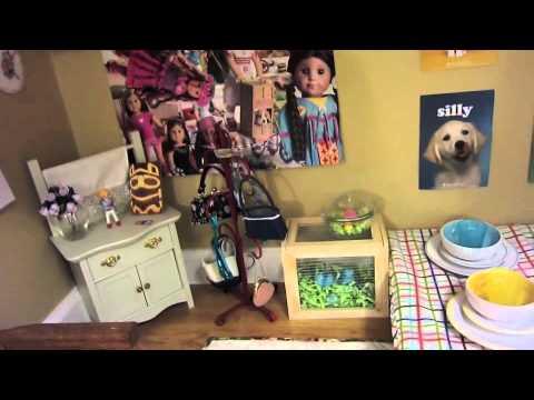 updated again giant american girl doll house youtube